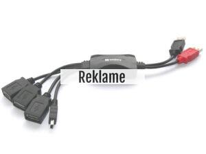 Fiks USB hub til den bærbare